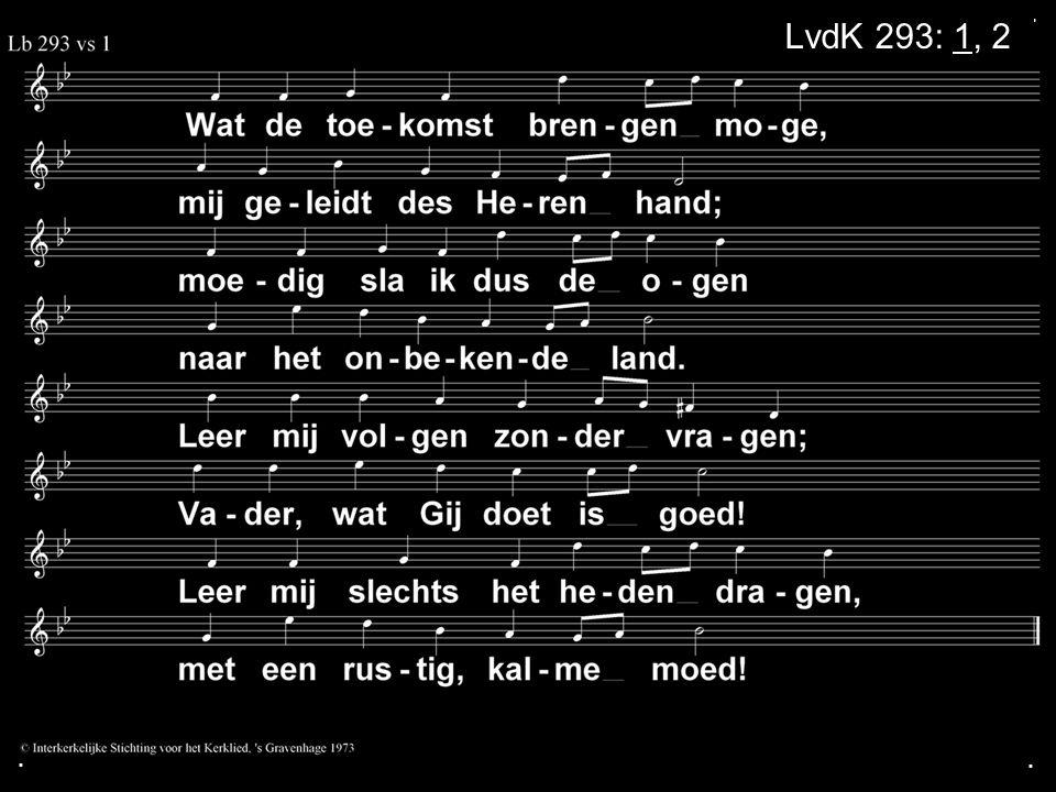 . LvdK 293: 1, 2 . .