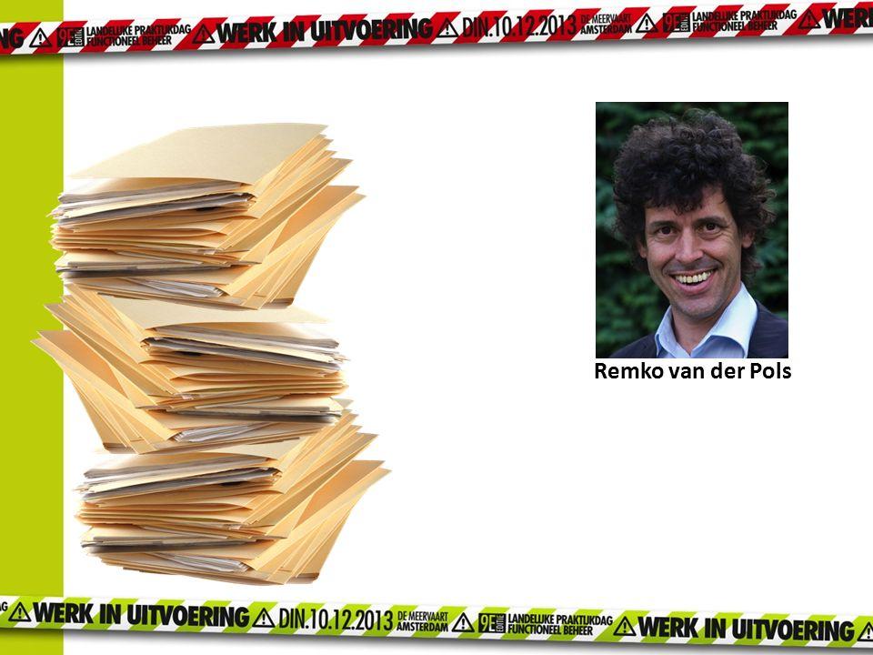 Remko van der Pols Remko die zijn aantekeningen achterliet als basis voor de boekenreeks.