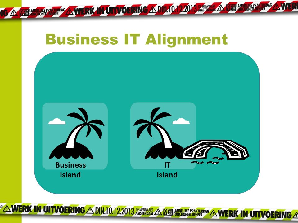 Business IT Alignment Business Island IT Island