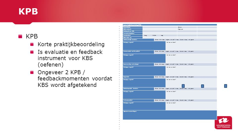 KPB KPB Korte praktijkbeoordeling