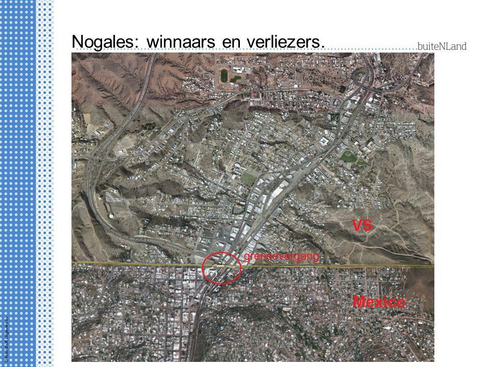 Nogales: winnaars en verliezers.