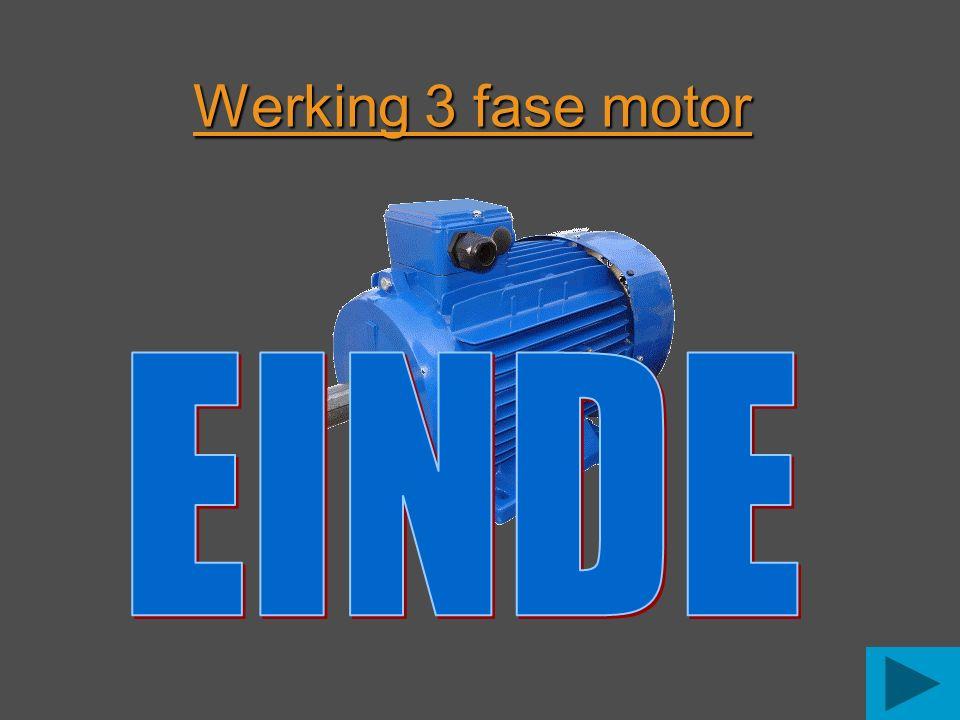 Werking 3 fase motor EINDE