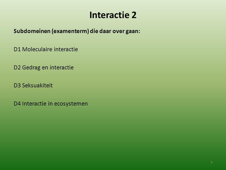 Interactie 2