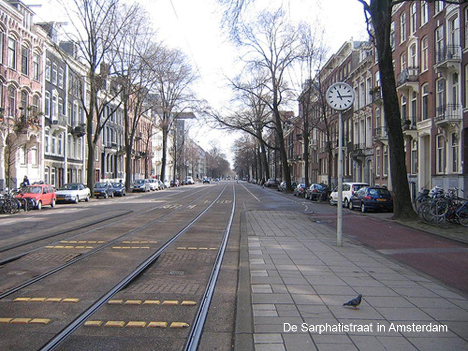 De Sarphatistraat in Amsterdam