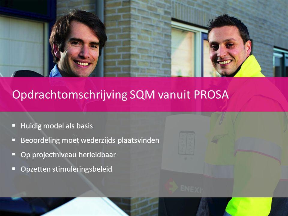 Opdrachtomschrijving SQM vanuit PROSA