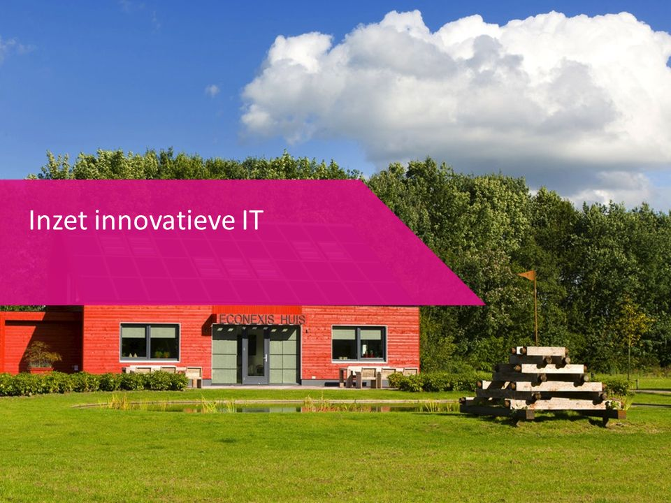 Inzet innovatieve IT