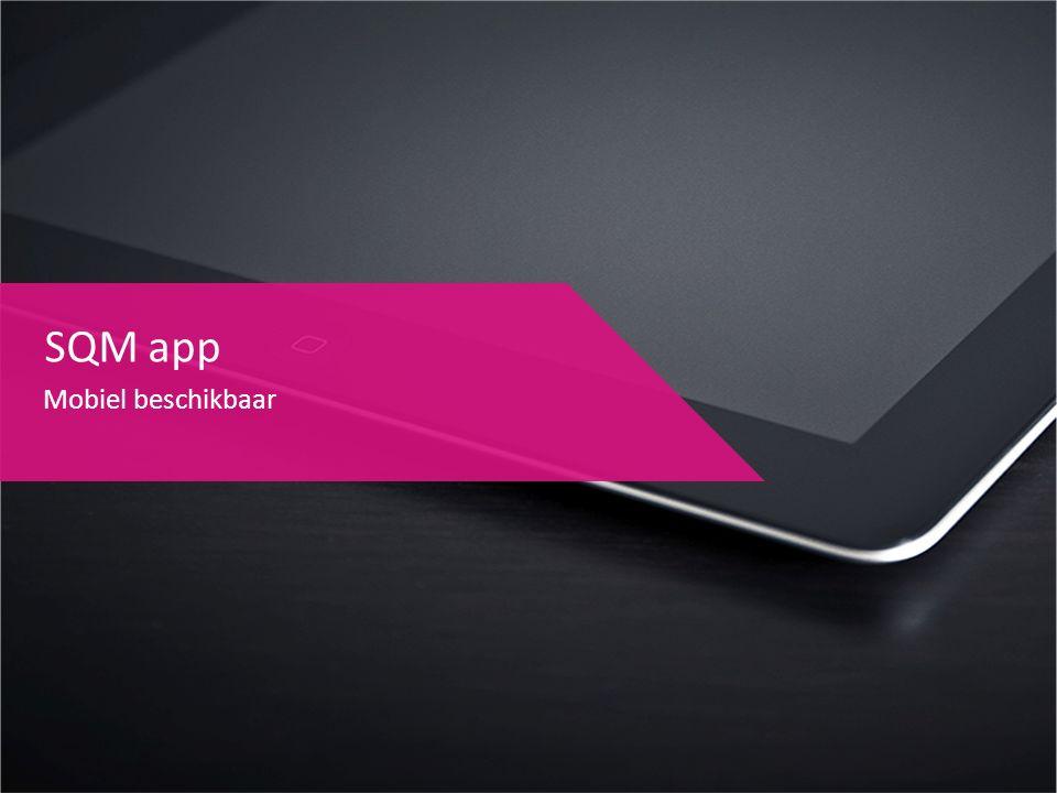 SQM app Mobiel beschikbaar