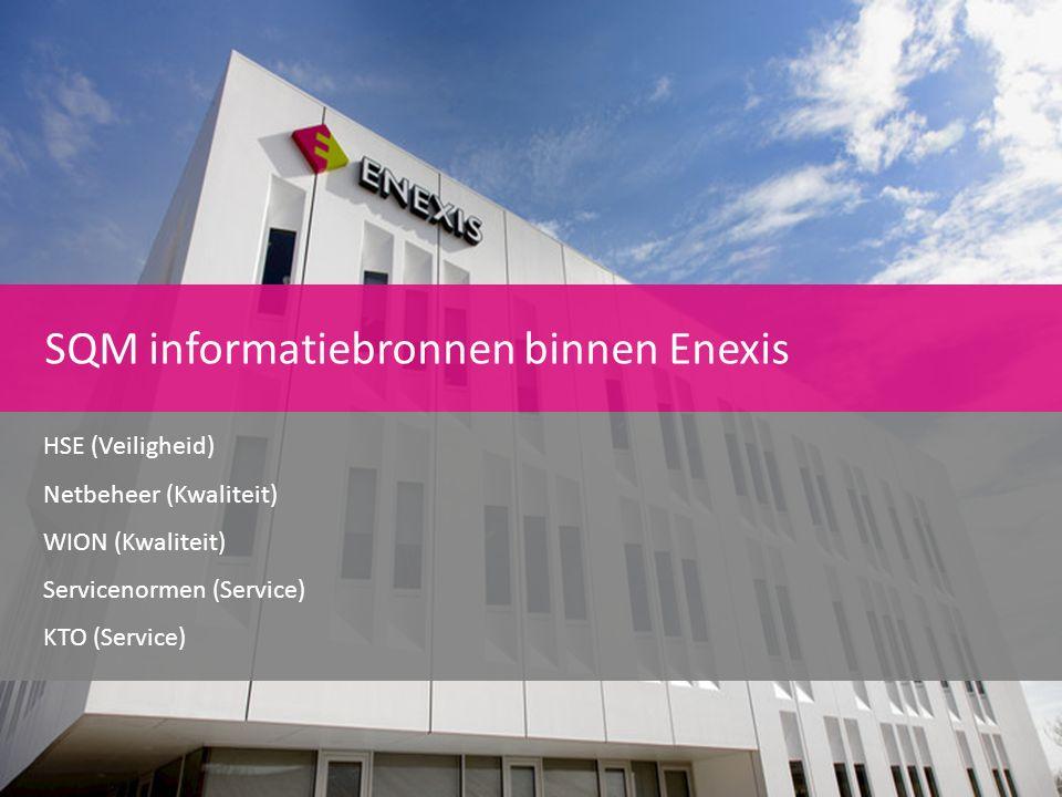 SQM informatiebronnen binnen Enexis