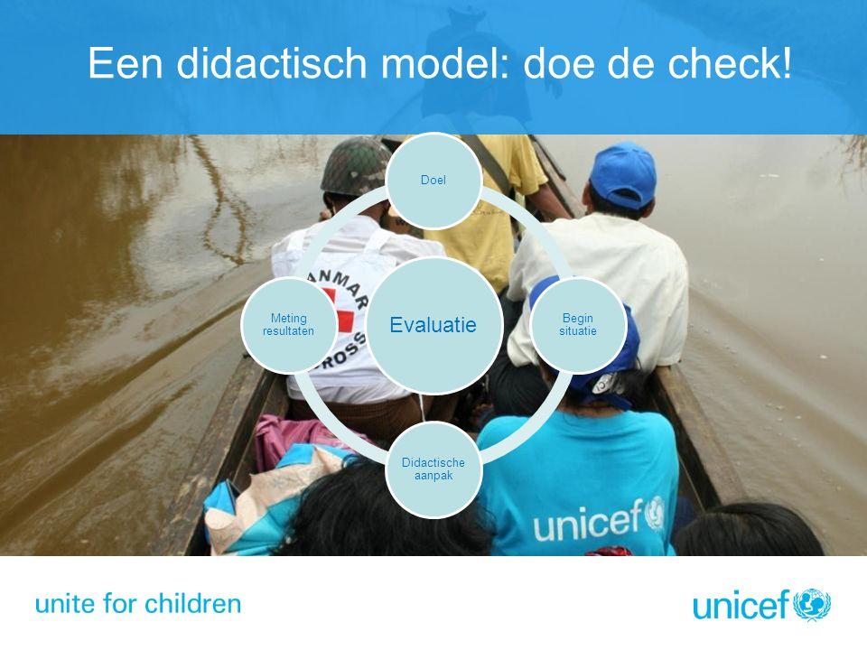 Een didactisch model: doe de check!