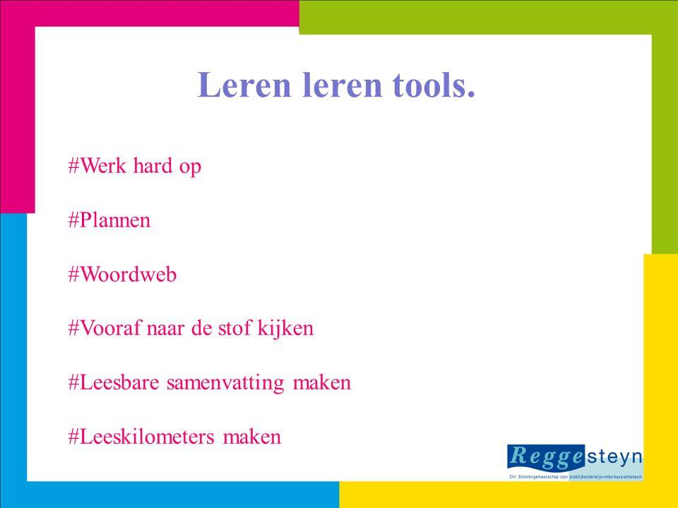 Leren leren tools. #Werk hard op #Plannen #Woordweb
