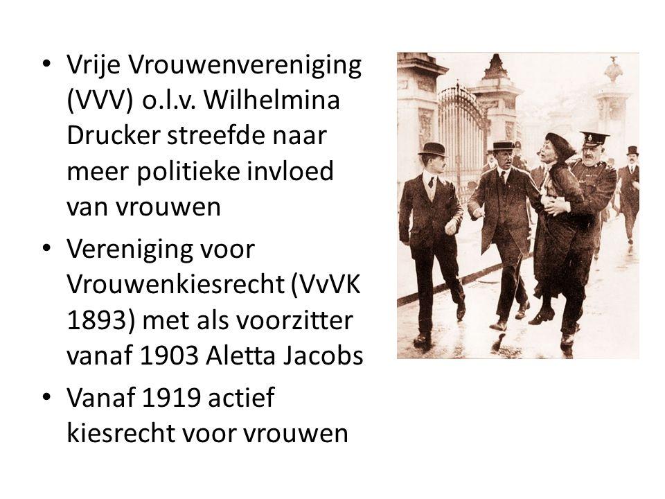 Vrije Vrouwenvereniging (VVV) o. l. v