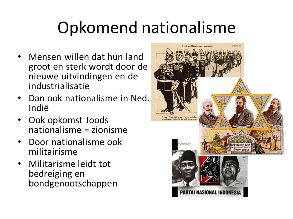 Opkomend nationalisme