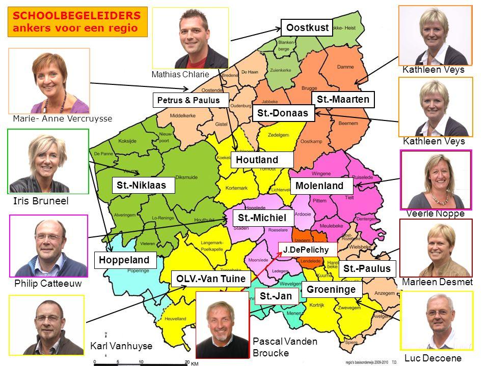 SCHOOLBEGELEIDERS ankers voor een regio