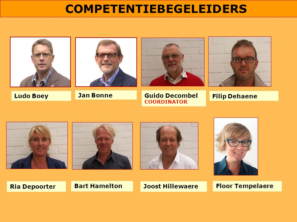 COMPETENTIEBEGELEIDERS