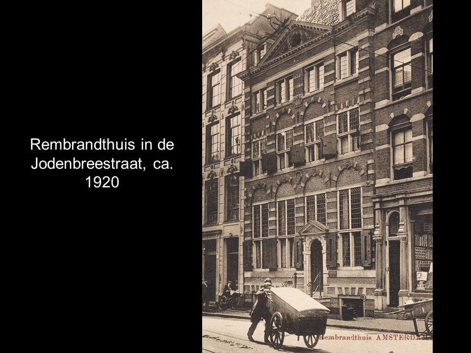 Rembrandthuis in de Jodenbreestraat, ca. 1920