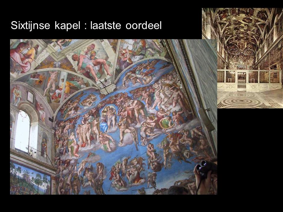 Sixtijnse kapel : laatste oordeel