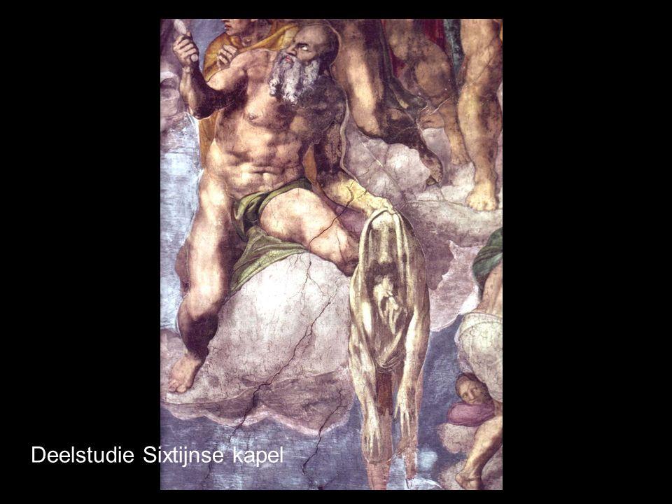 Deelstudie Sixtijnse kapel