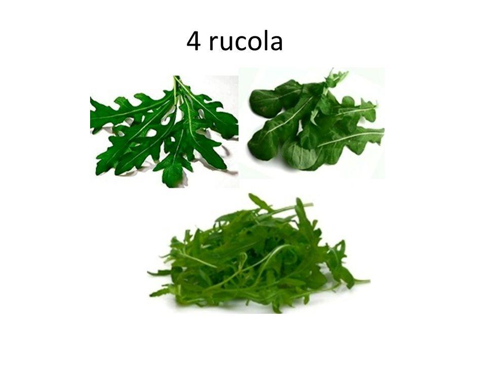 4 rucola