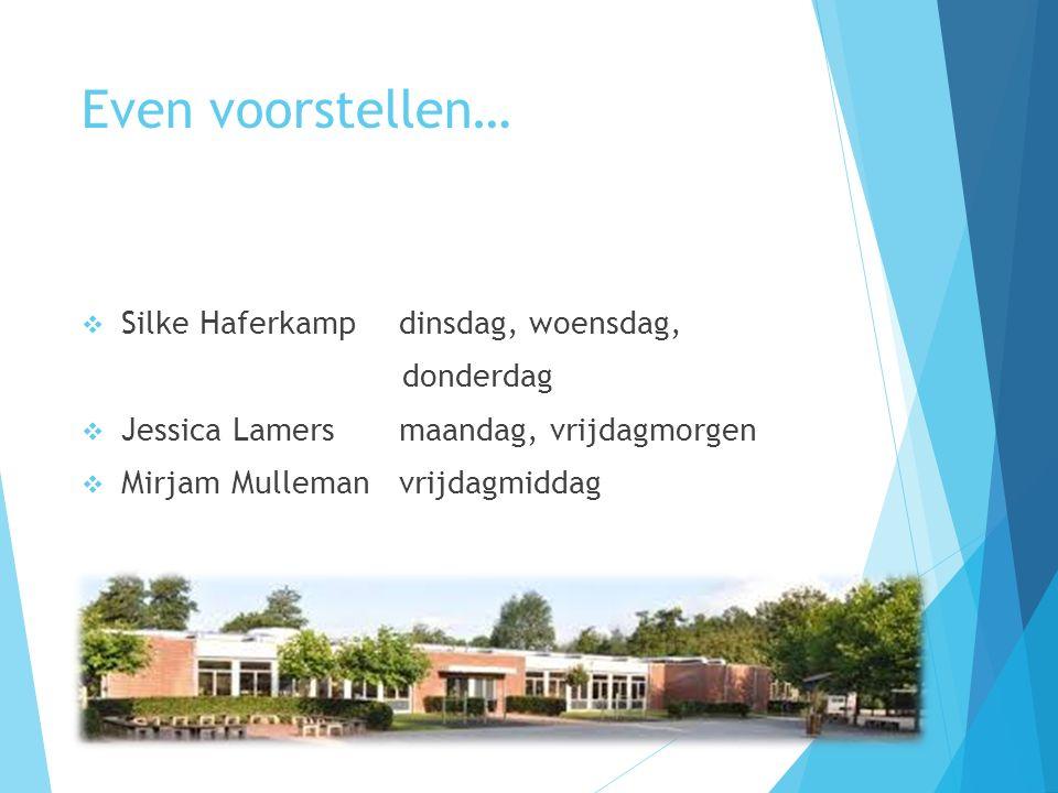 Even voorstellen… Silke Haferkamp dinsdag, woensdag, donderdag