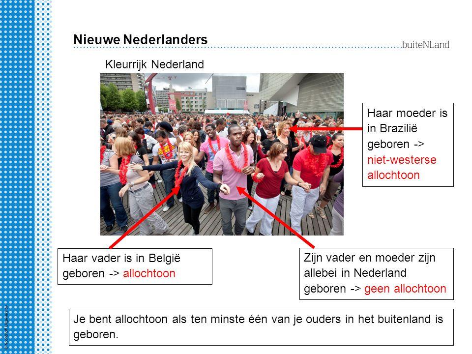 Nieuwe Nederlanders Kleurrijk Nederland