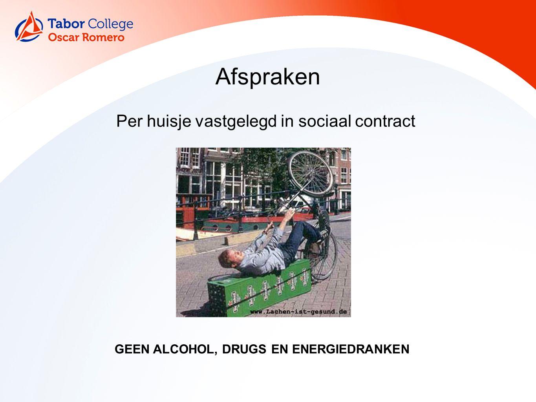 Per huisje vastgelegd in sociaal contract