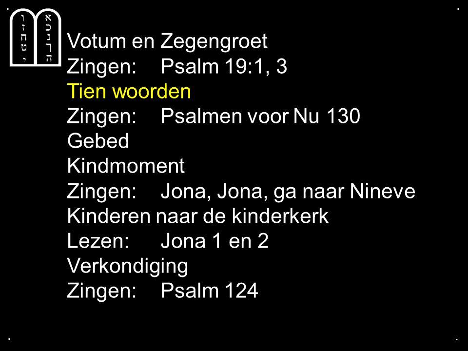 Zingen: Psalmen voor Nu 130 Gebed Kindmoment