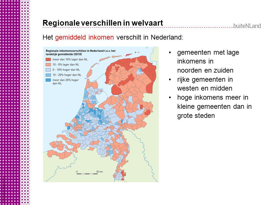Regionale verschillen in welvaart
