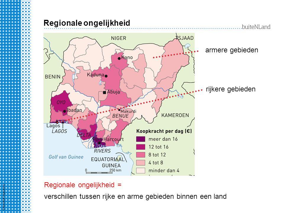 Regionale ongelijkheid