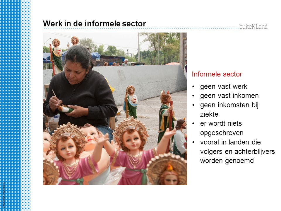 Werk in de informele sector