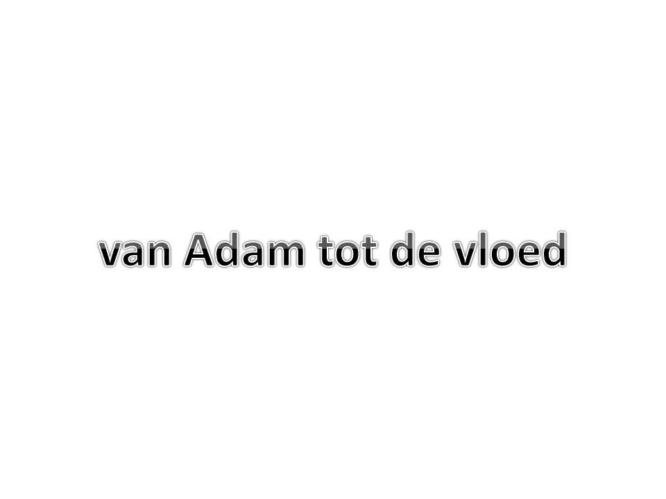 van Adam tot de vloed