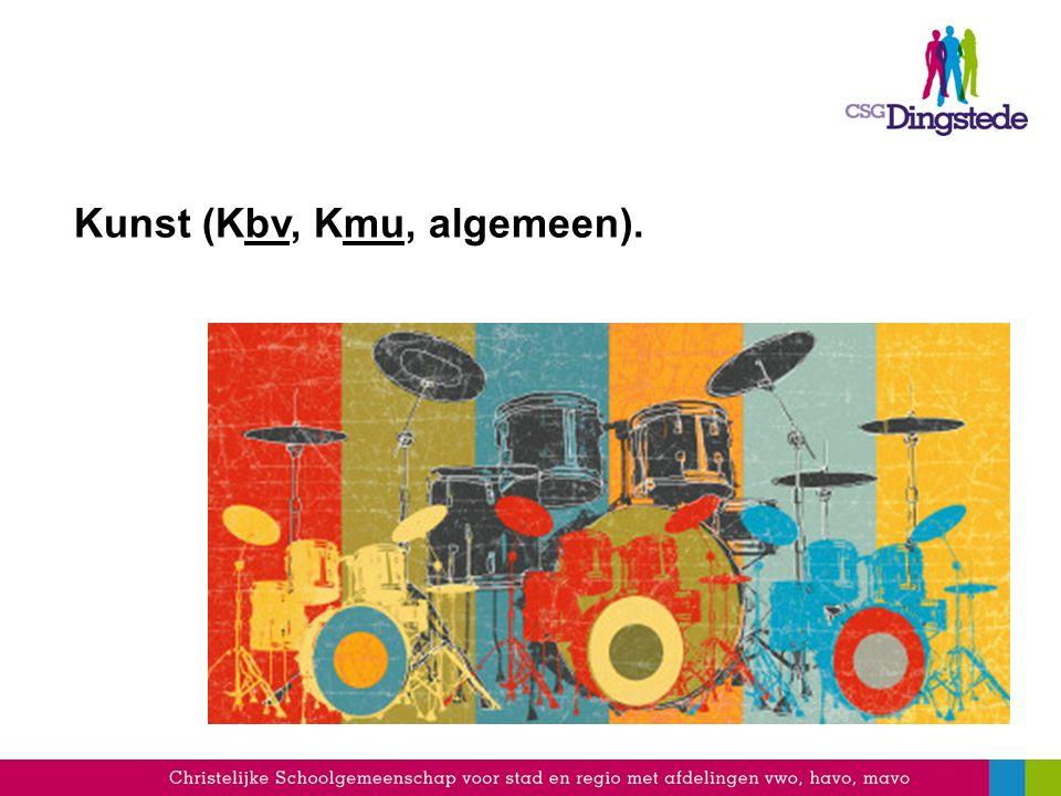 Kunst (Kbv, Kmu, algemeen).