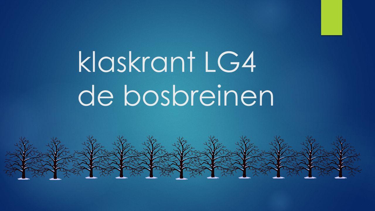 klaskrant LG4 de bosbreinen