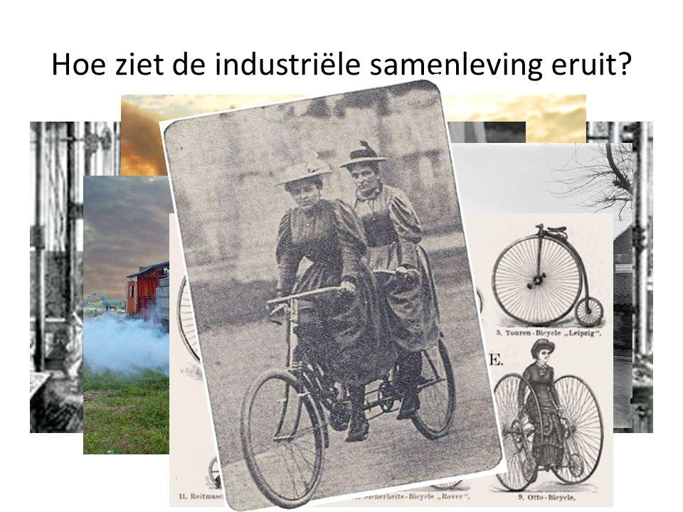Hoe ziet de industriële samenleving eruit