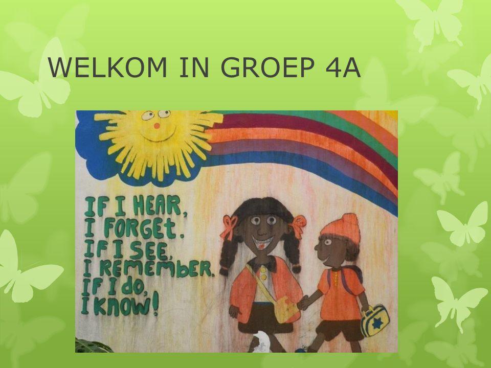 WELKOM IN GROEP 4A