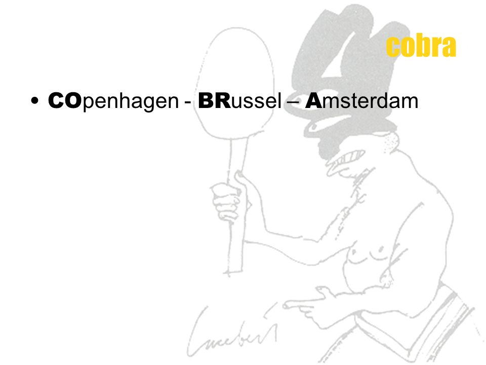 cobra COpenhagen - BRussel – Amsterdam