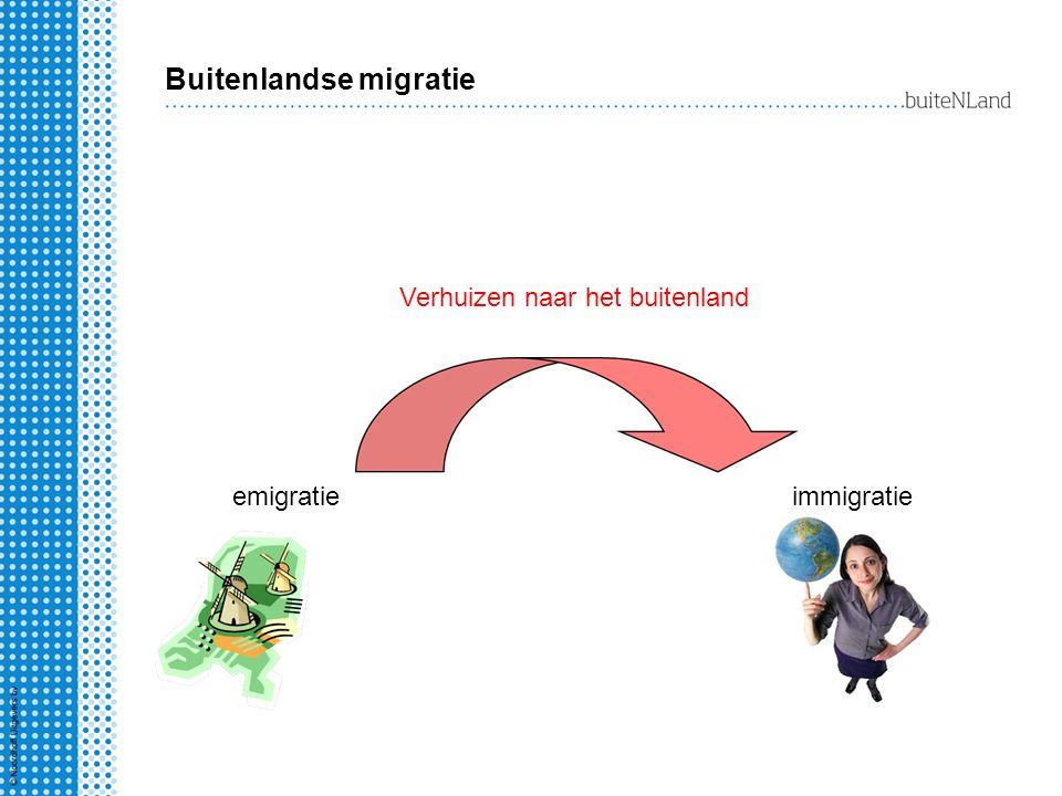 Buitenlandse migratie