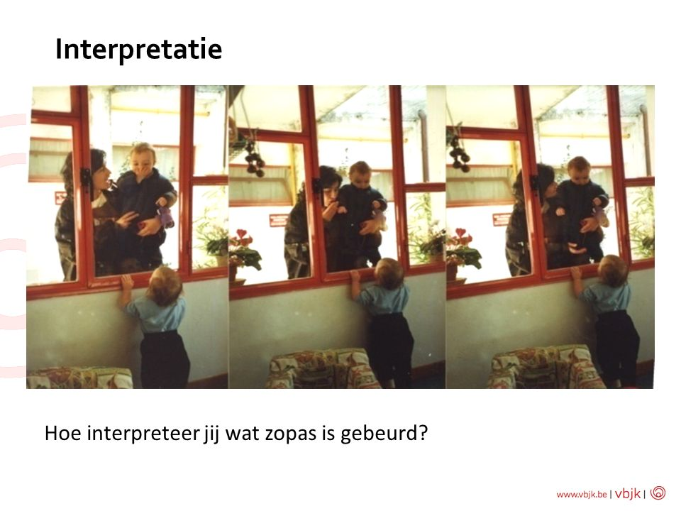Interpretatie Hoe interpreteer jij wat zopas is gebeurd