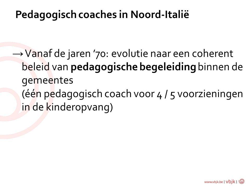 Pedagogisch coaches in Noord-Italië
