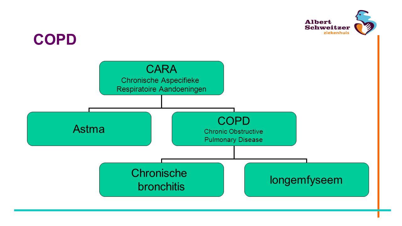 COPD CARA COPD Astma Chronische longemfyseem bronchitis