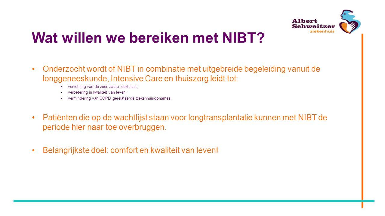 Wat willen we bereiken met NIBT
