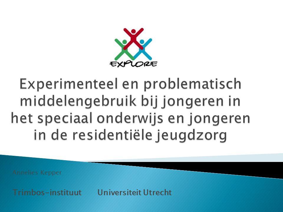 Annelies Kepper Trimbos-instituut Universiteit Utrecht