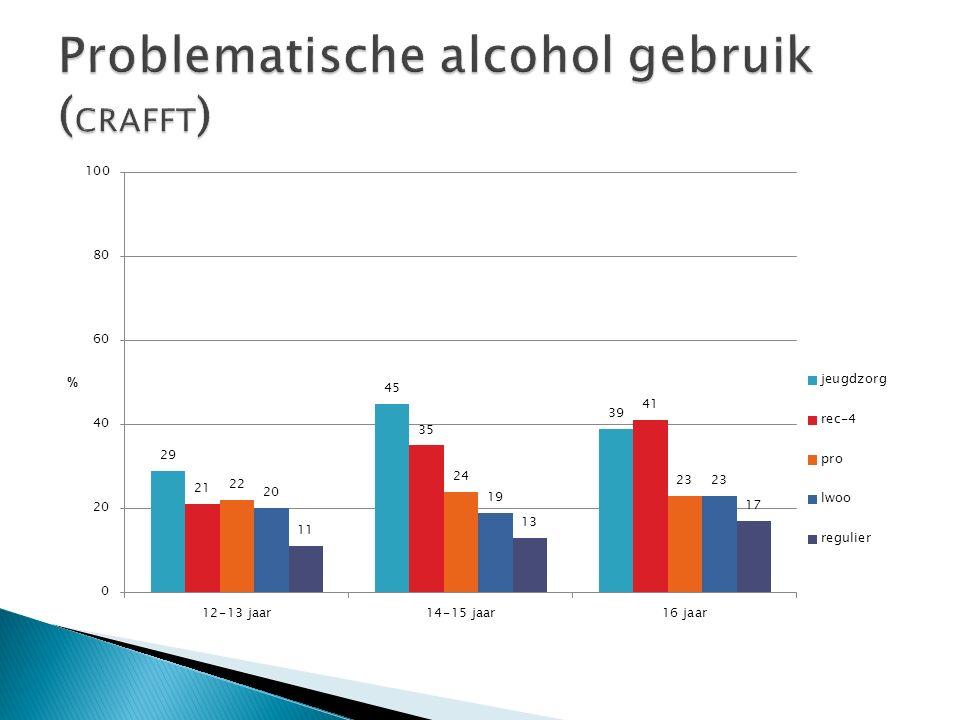 Problematische alcohol gebruik (CRAFFT)