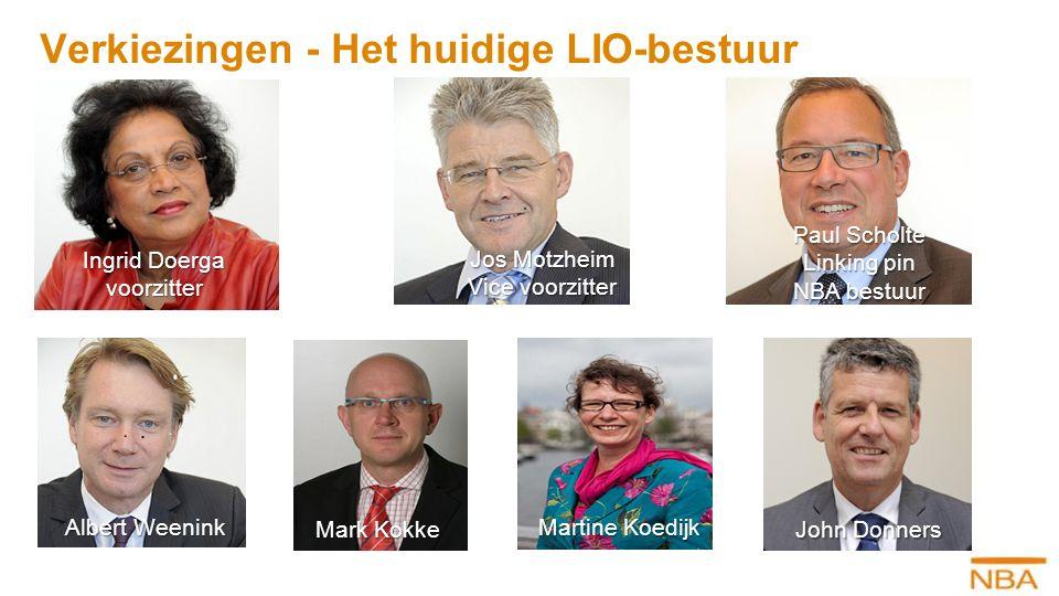 Verkiezingen - Het huidige LIO-bestuur