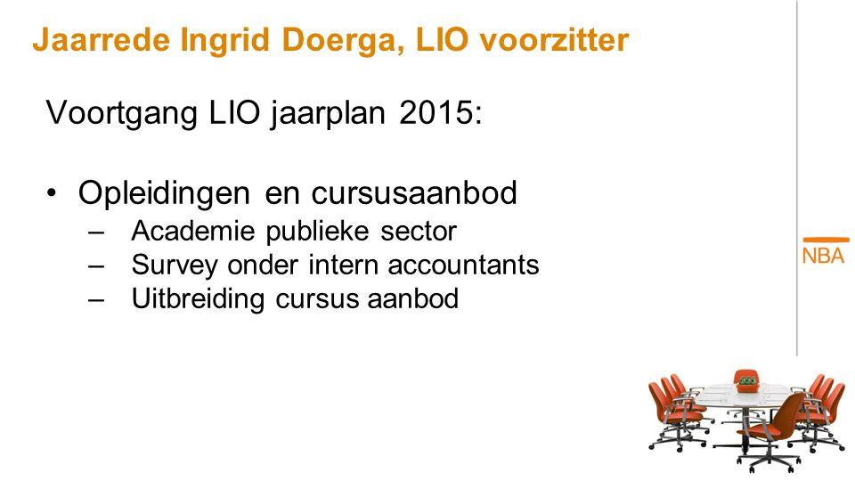 Jaarrede Ingrid Doerga, LIO voorzitter