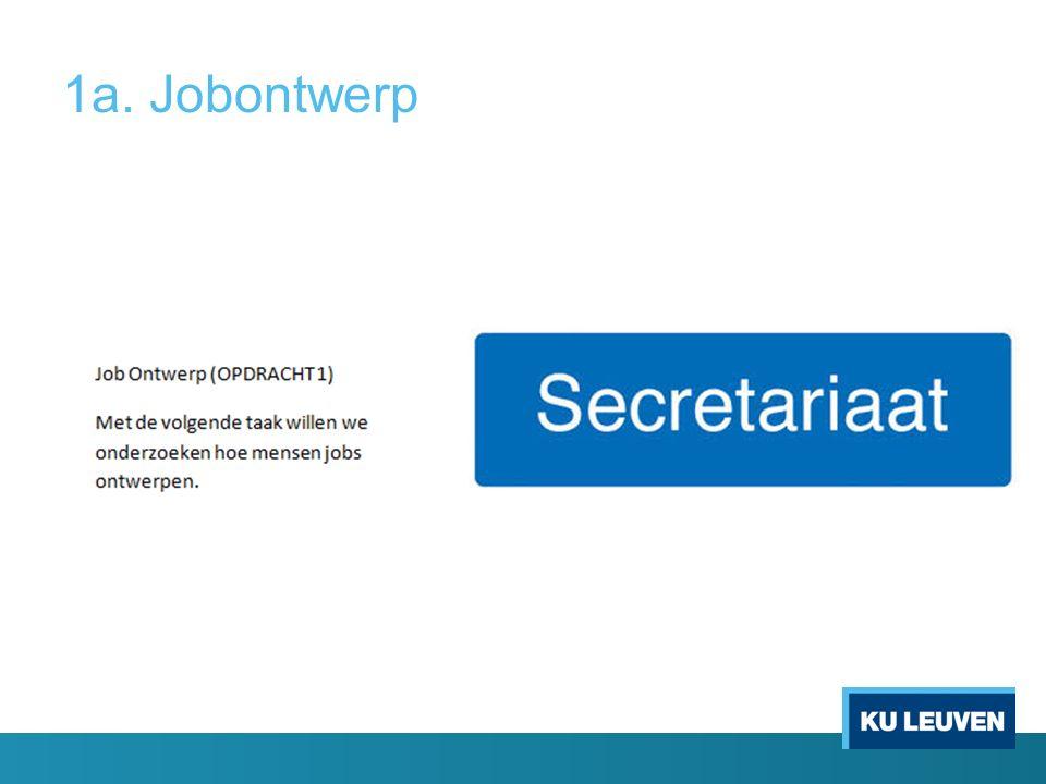 1a. Jobontwerp