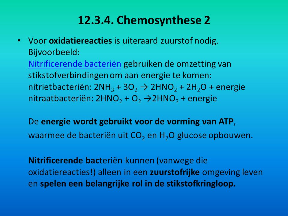 12.3.4. Chemosynthese 2