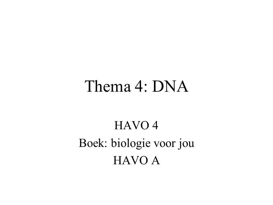 HAVO 4 Boek: biologie voor jou HAVO A