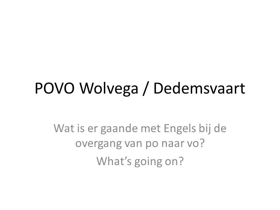 POVO Wolvega / Dedemsvaart