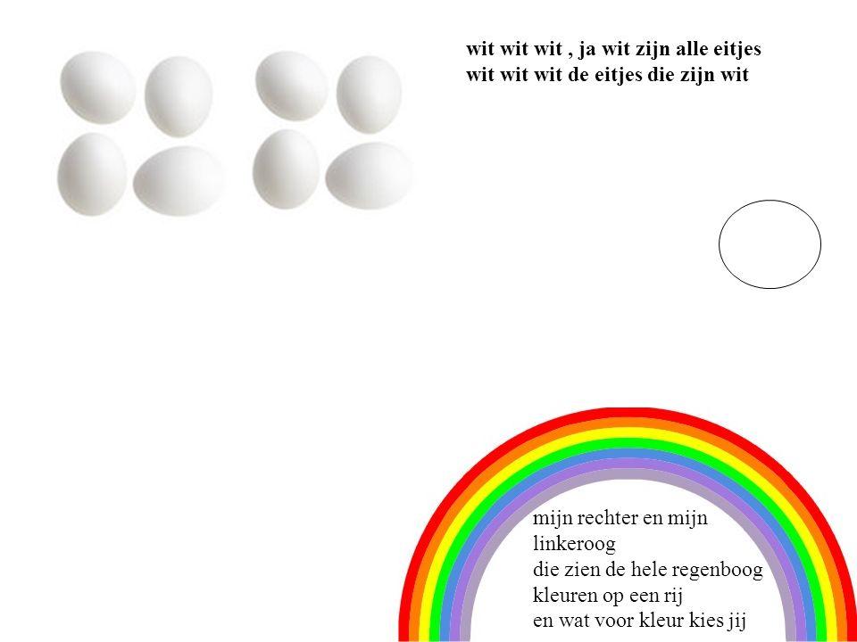 8 wit wit wit , ja wit zijn alle eitjes