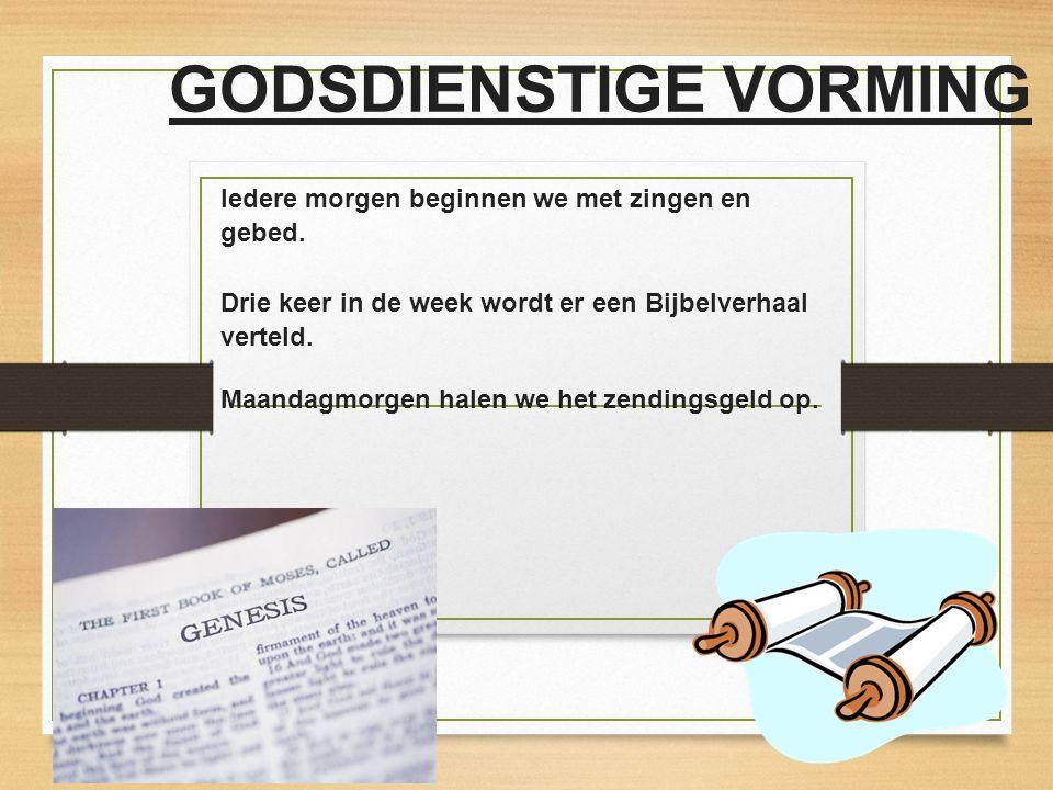GODSDIENSTIGE VORMING